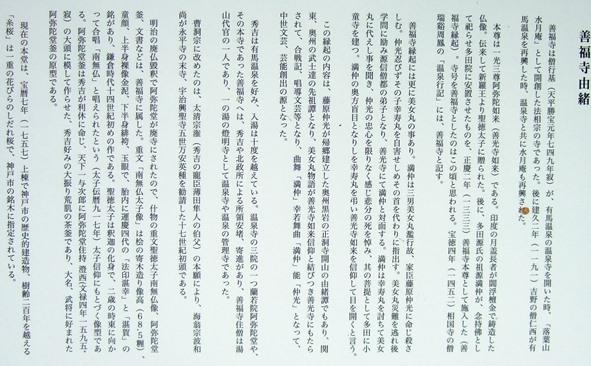 ありま4・善福寺由緒板.JPG