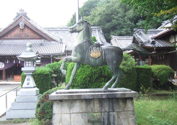八幡宮4・神馬.JPG
