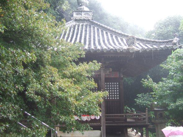 四国14・弥谷、観音堂.JPG
