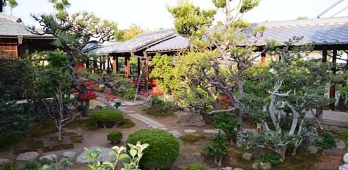 大徳寺33総見院茶室への廻廊.jpg