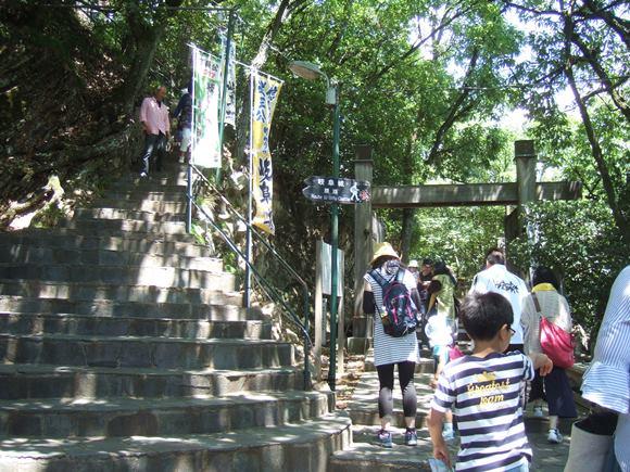 岐阜城11・天下の第一の門.JPG