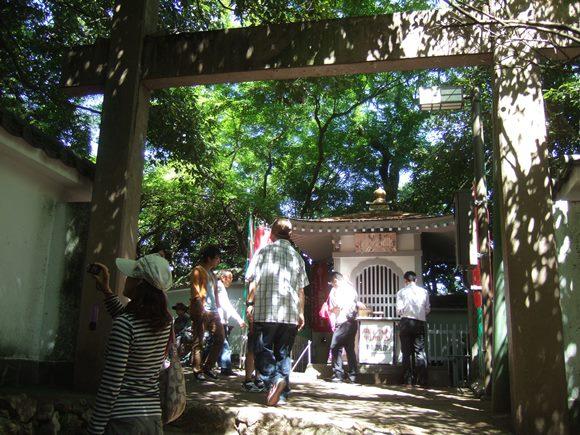 岐阜城17・二の丸門、閻魔堂.JPG