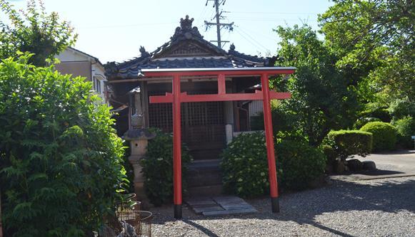 岐阜14・正法寺、稲荷社.JPG