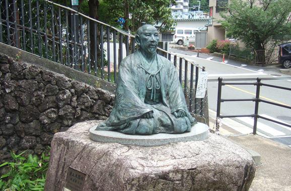 有馬温泉9・太閤像.JPG