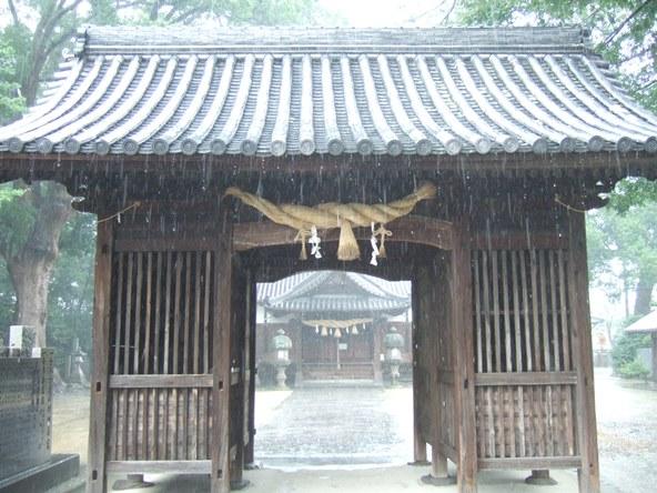本山寺35・高良神社、随神門.JPG