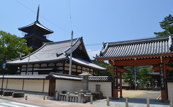 東院15・赤門、常行堂、五重塔.JPG