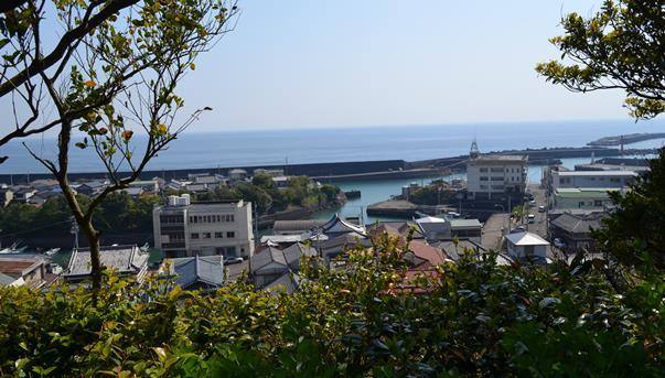 津照寺24・室津港と太平洋.JPG