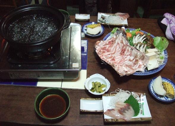 白地荘6・夕食.JPG