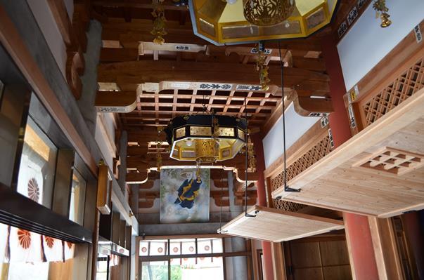 金剛頂寺15・本堂外陣天井.JPG