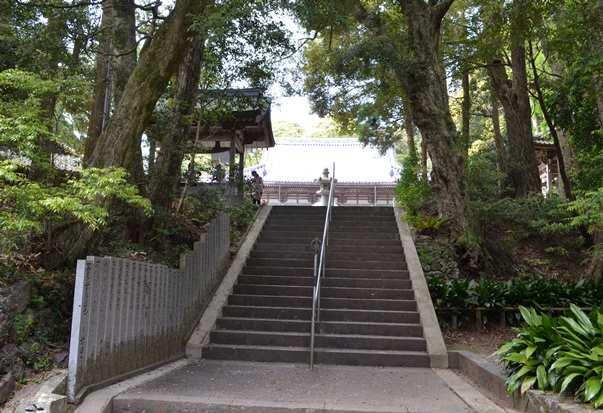 金剛頂寺8・仁王門から.JPG